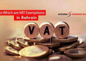VAT Exemption in Bahrain