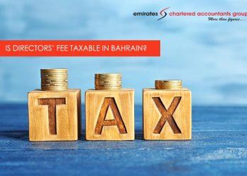 VAT on Directors fee in Bahrain
