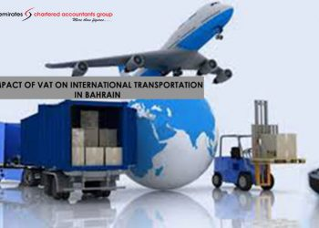 VAT on International Transportation in Bahrain