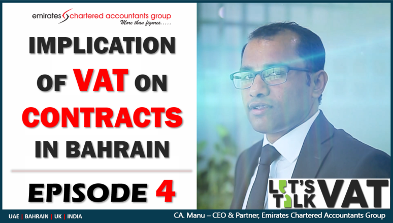 Transitional Provisions Under the Bahrain VAT law
