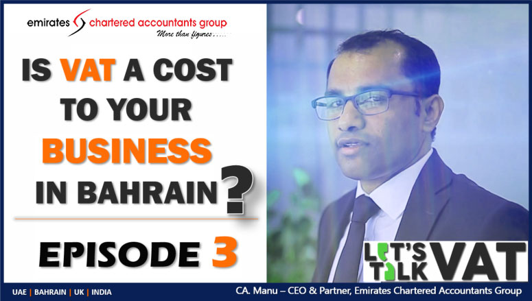 vat in bahrain updates-is vat a cost to your business