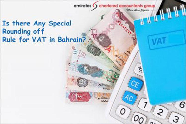 rounding off rules for vat in bahrain