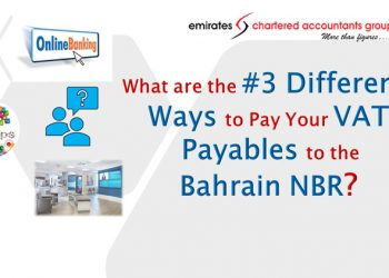 VAT payable methods in Bahrain