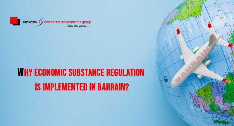 economic substance regulations Bahrain