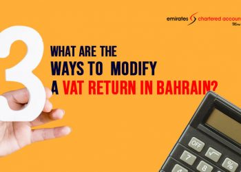 VAT Return modification in bahrain