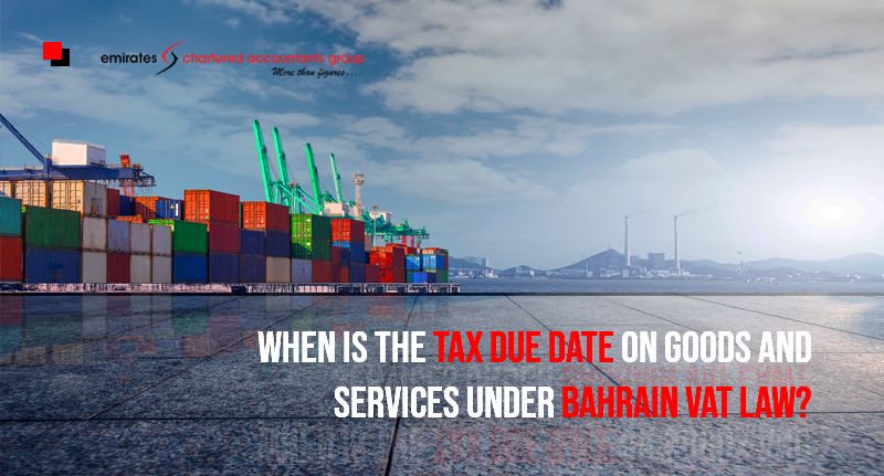 Tax Due Date On Goods And Services