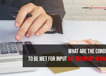 input vat recovery in bahrain