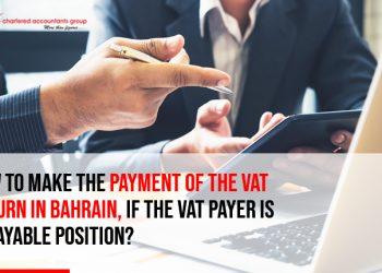 vat return in bahrain