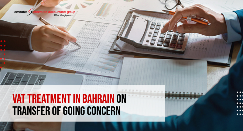 vat treatment in bahrain