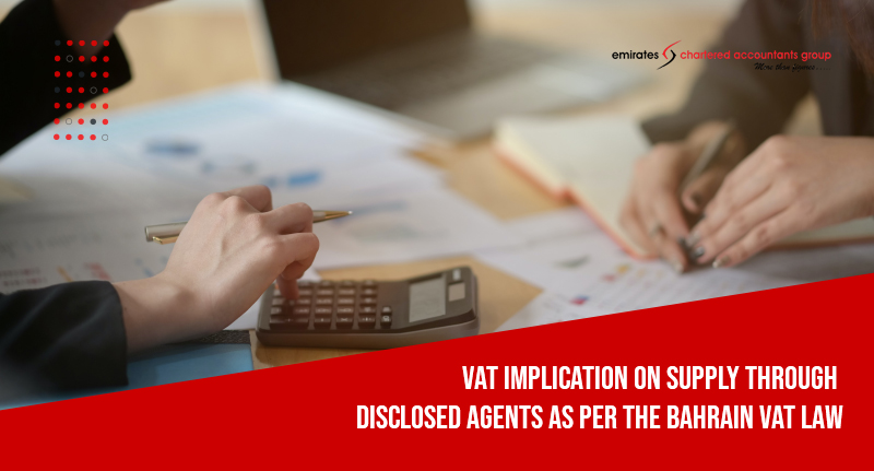 VAT Treatment in Bahrain on the Supplies