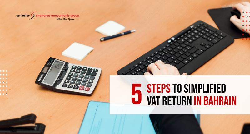 simplified vat return in bahrain