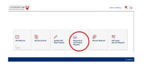 vat audit in bahrain login portal