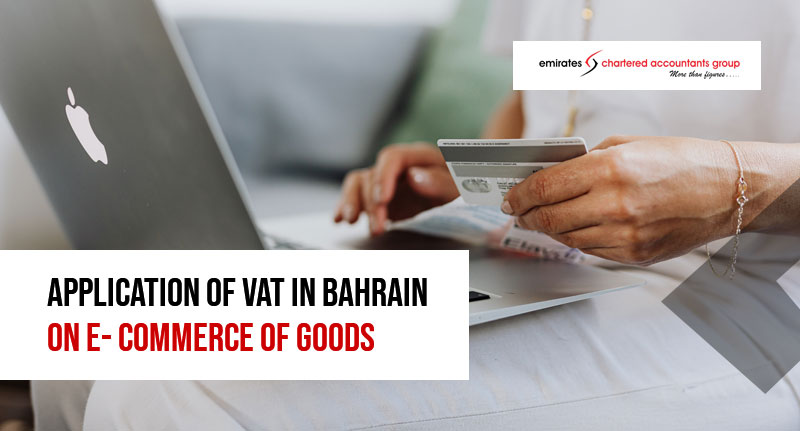 Vat in bahrain on e-commerce of goods