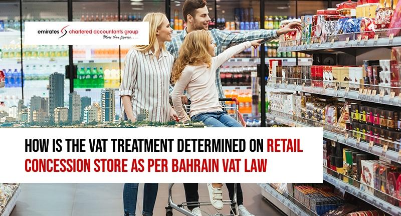 VAT treatment for retail concession stores