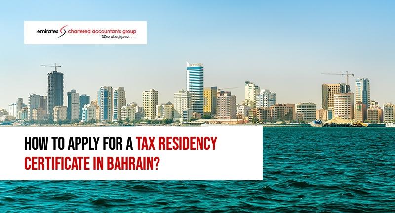 tax residency certificate in bahrain